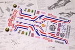 British UK Flag themed vinyl stickers to fit R/C Tamiya Hornet